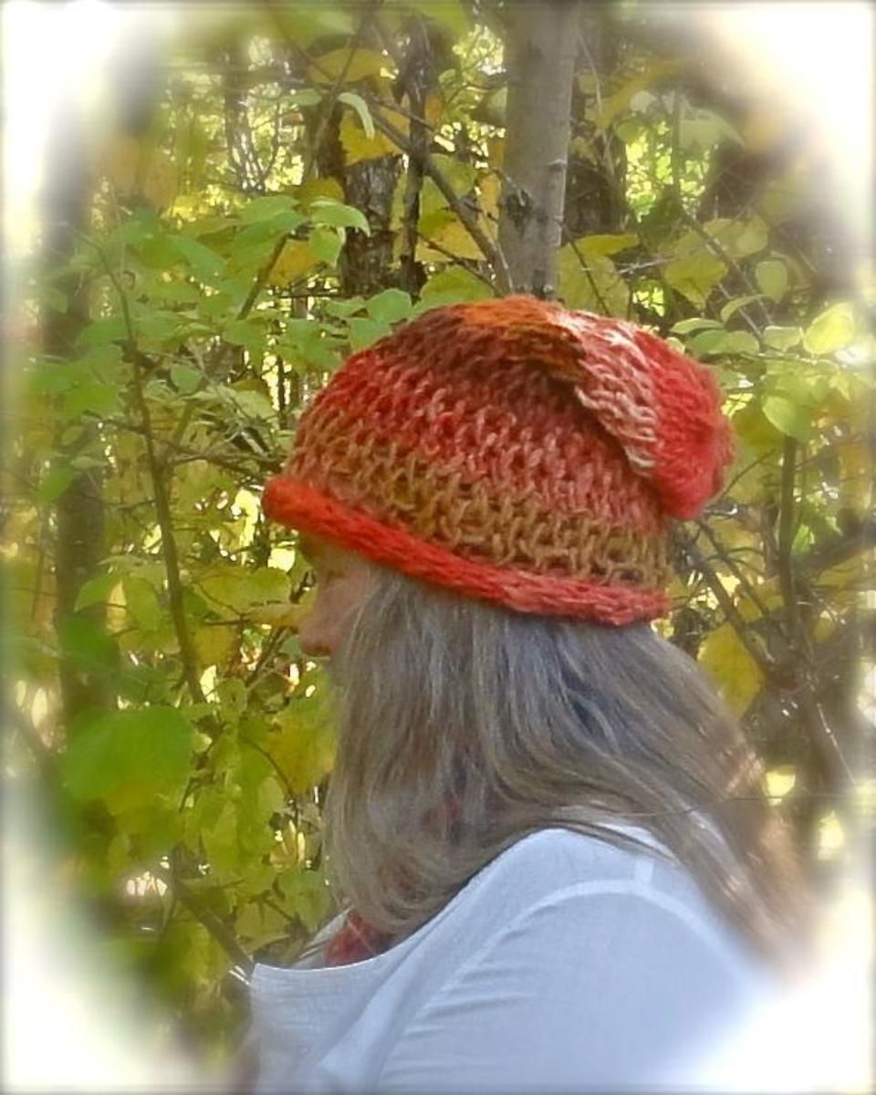 No needles slouchy hat finger knitting pinterest slouchy hat free knitting pattern for no needles slouchy hat and more weekend knitting patterns finger knitting pattern that takes about 2 to 3 hours to knit bankloansurffo Images