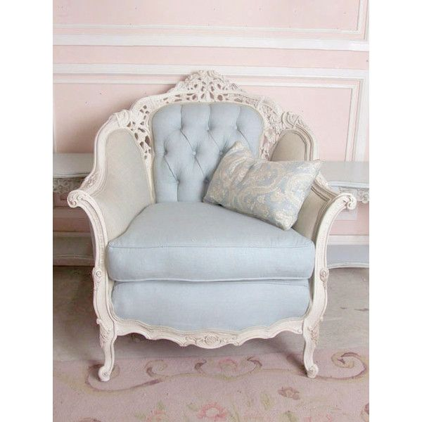 shabby chic style bergeres upholstered chairs the bella cottage rh pinterest co uk shabby chic upholstered dining chairs shabby chic upholstered dining chairs