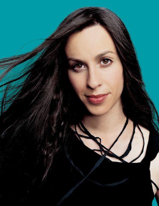 Alanis Morissette  uma cantora muito trabalhadora com suas musicas