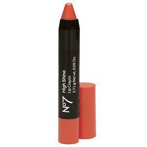 Boots No7 High Shine Lip Crayon Tickle 0 09 Oz By Ab Boots No7 High Shine Lip Crayon Tickle 0 09 Oz Spring Lipstick Lip Crayons No7