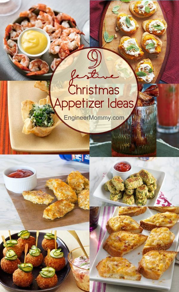 here are some fun and festive christmas appetizer ideas for your christmas party