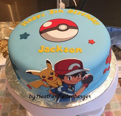 pokemon xy birthday cakes