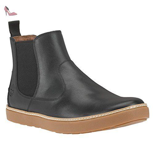 Timberland Ek Hudston Chel hommes, cuir lisse, bottes, 45.5
