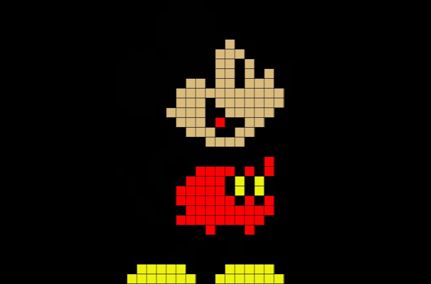 Disney Mickey Mouse Disney Pixel Art Novocom Top