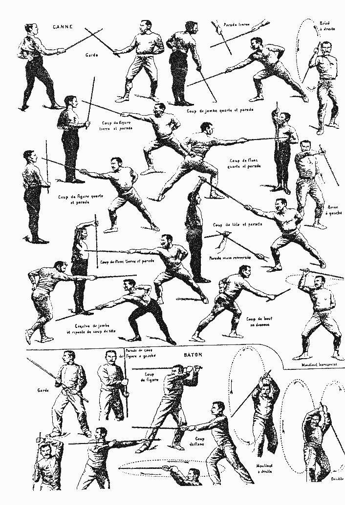 La canne et baton | La Canne et Baton in 2019 | Martial Arts