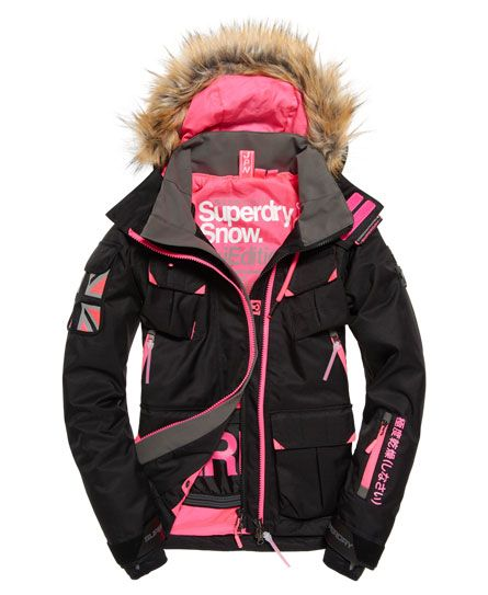 Superdry Ultimate Snow Action Jacket Women's Jackets and Coats