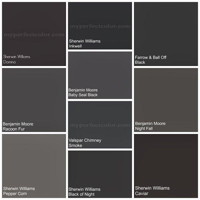Blue Black Paint Colors Decorating Ideas In 2019