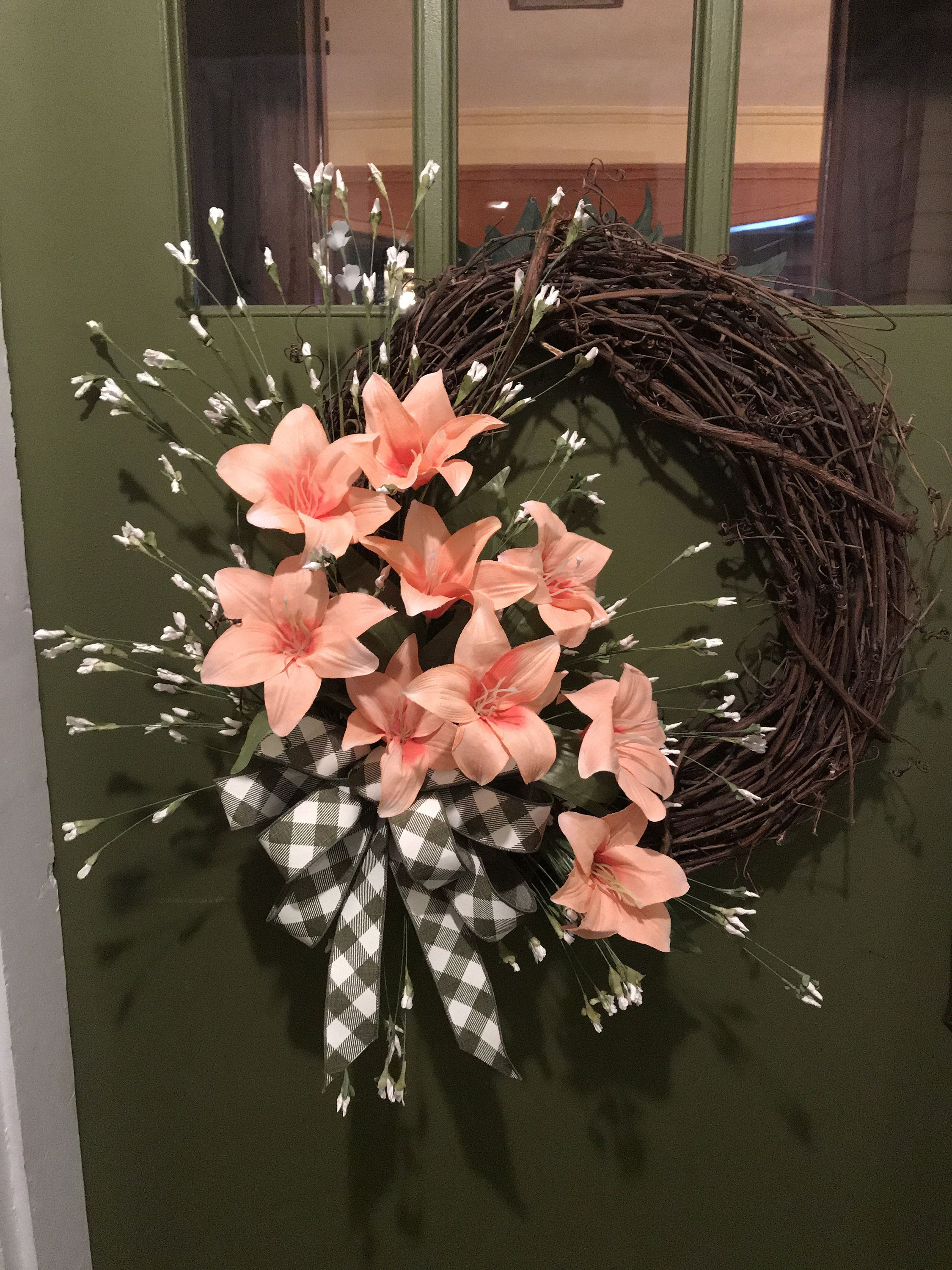 Photo of FREE Shipping, Wreaths, wreaths for front door, everyday, all season, grapevine, spring, summer, farmhouse, primitive, all year long wreaths