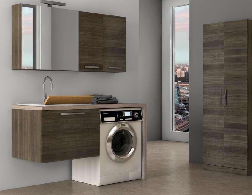 Bagno piccolo con lavatrice innenarchitektur bagno bad