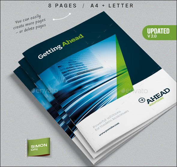 Free Premium PSD Corporate Brochure Designs Travel - Creative brochure templates