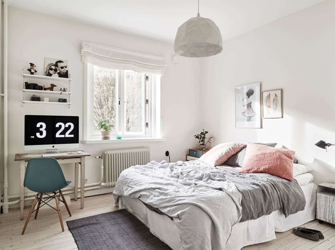 Schlafzimmer Rosa Grau Dreamy Bedroom And Vintage Elements Via Cocolapinedesign