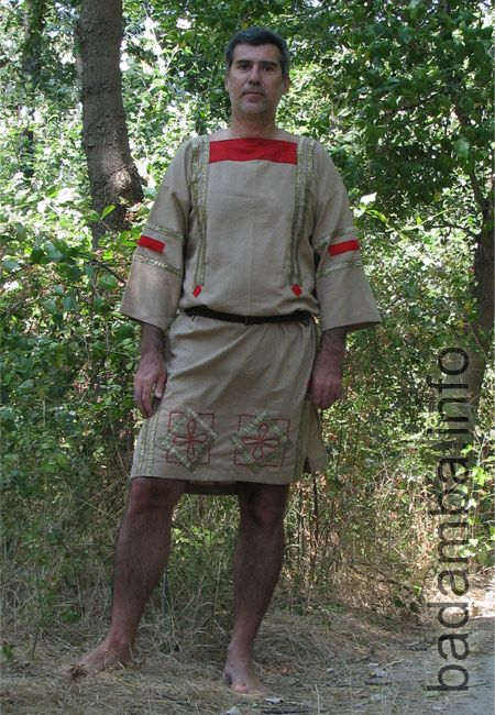 Another version of summer male Roman Costume