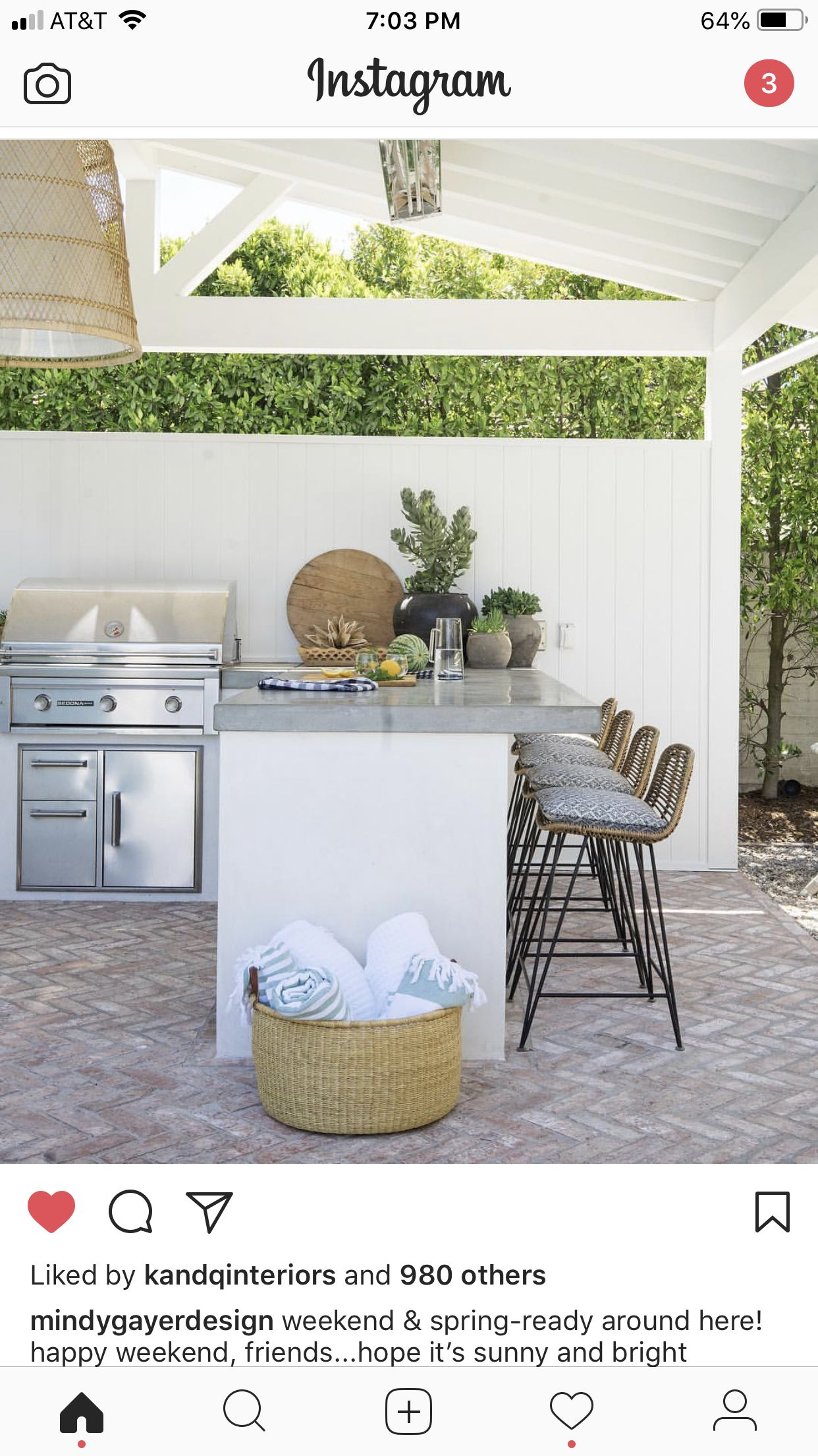 Pin by Kim Way on Brick Outdoor kitchen countertops