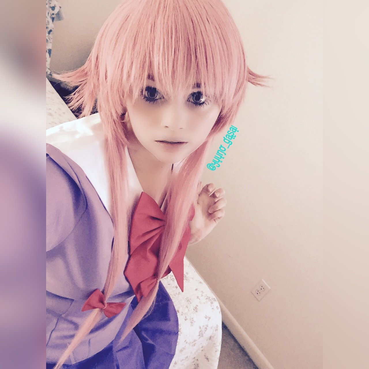When You Take A Really Bad Cosplay Picture My Yuno Gasai Cosplay Everyone [ 1280 x 1280 Pixel ]