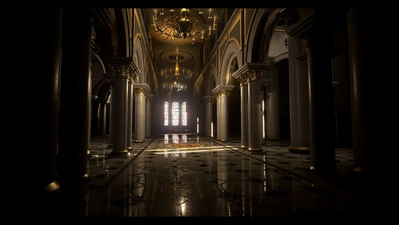 Palace interior - Unreal Engine Pack in 2019 | The Creator | Palace