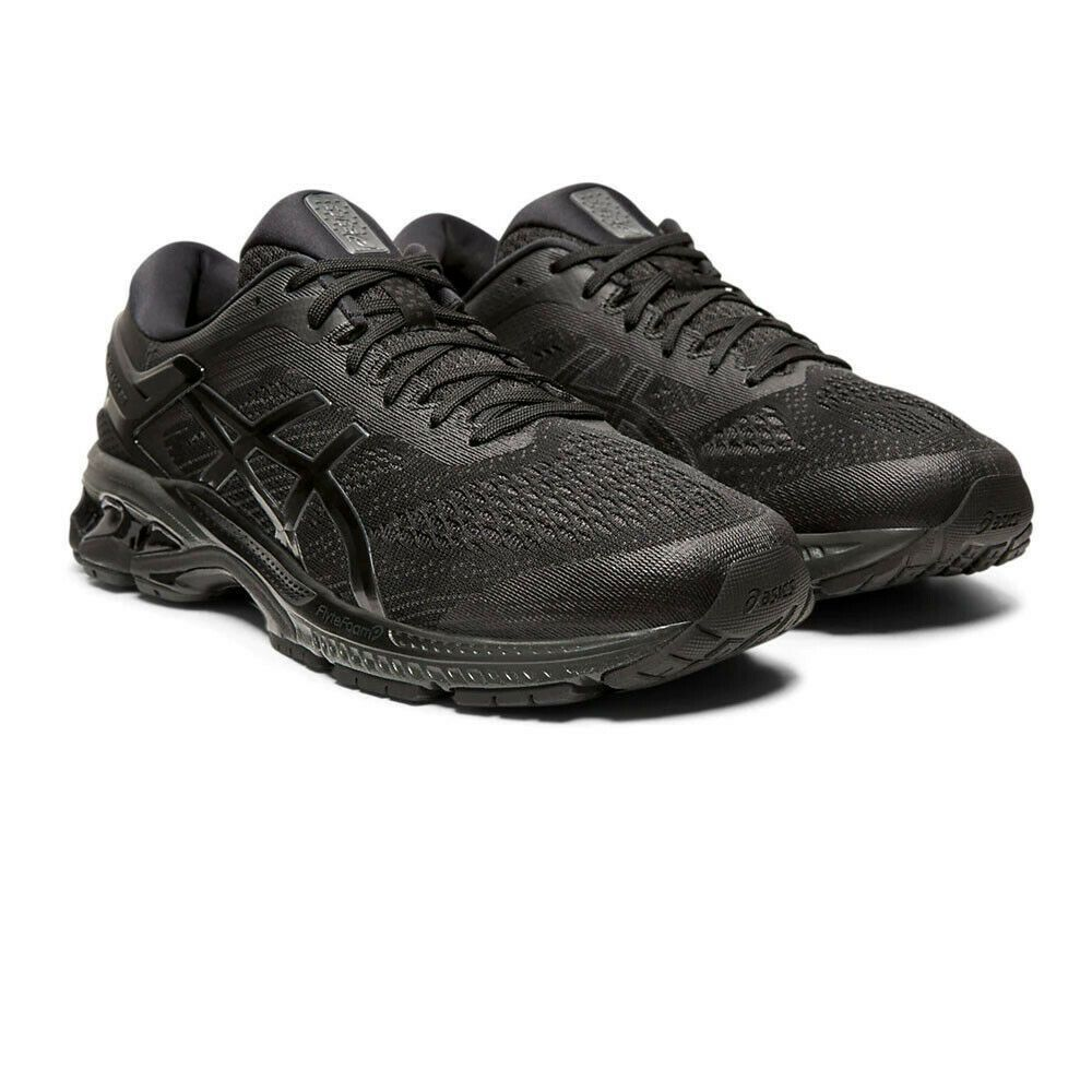 Asics Mens Gel Kayano 26 Running Shoes Trainers Sneakers Black Sports Running Shoes Black Running Shoes Asics Running Shoes