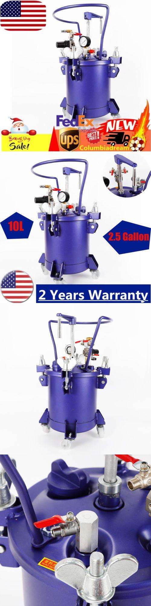 Paint Sprayers 79702: 10 Gallon Pressure Paint Pot Tank Spray Gun
