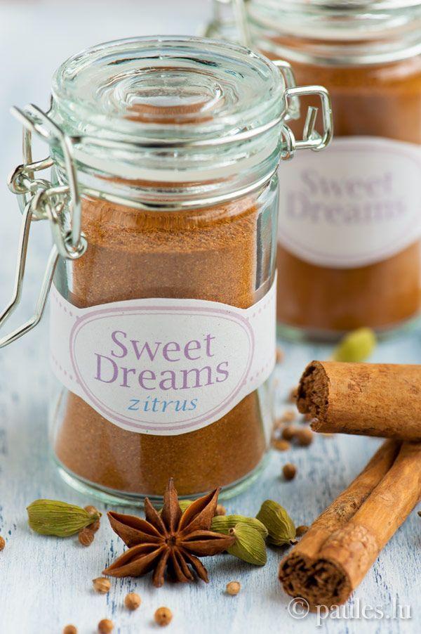 sweet dreams gew rzmischung k che geschenke aus der k che pinterest thermomix food and. Black Bedroom Furniture Sets. Home Design Ideas