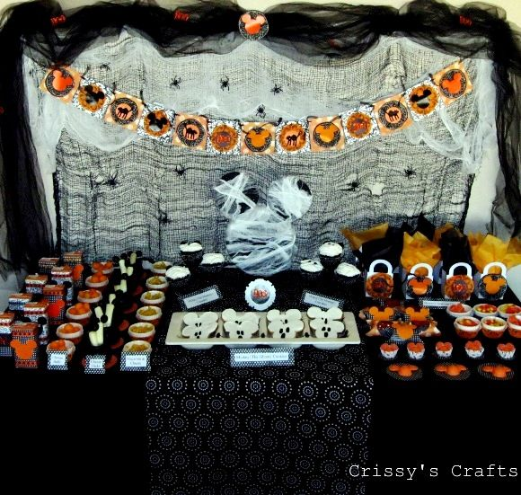 Mickey S Not So Scary Halloween Party Mickey Halloween Party Birthday Halloween Party Mickey Halloween