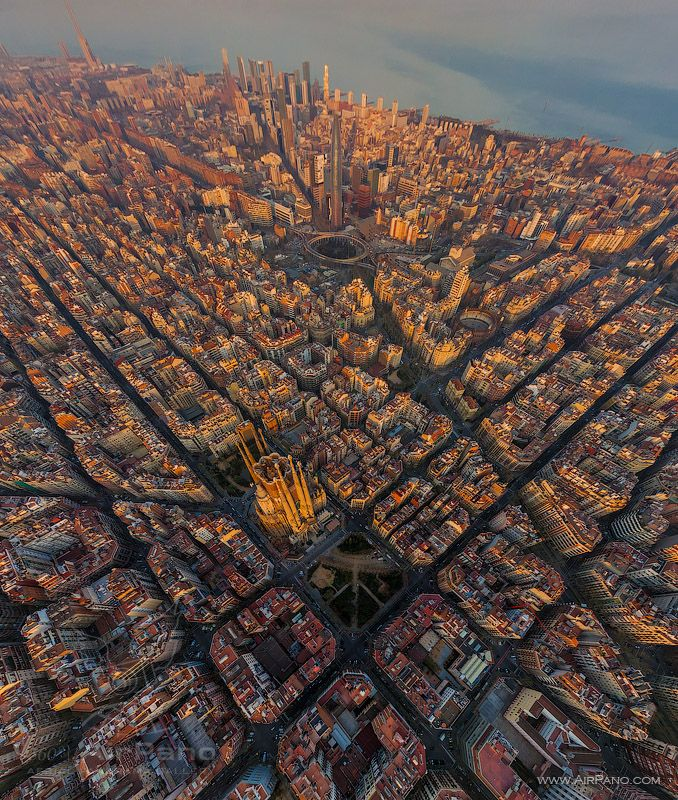 Cells Of Barcelona 2 Spain Airpano Com Photo Barcelona Why