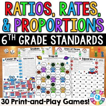 image regarding 6th Grade Math Games Printable called 6th Quality Math Video games: Ratios, Dimensions, Gadget Charges 6
