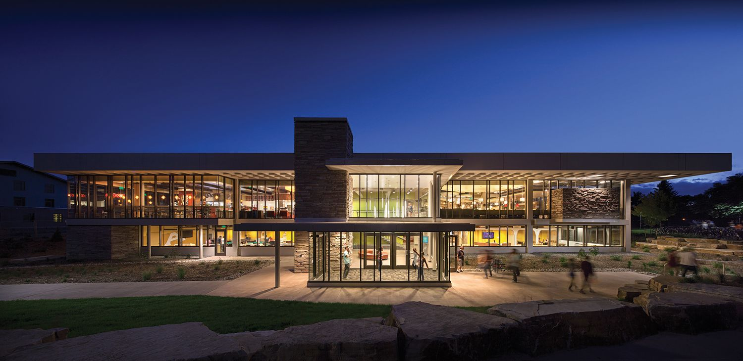 Durrell dining and student center house styles student