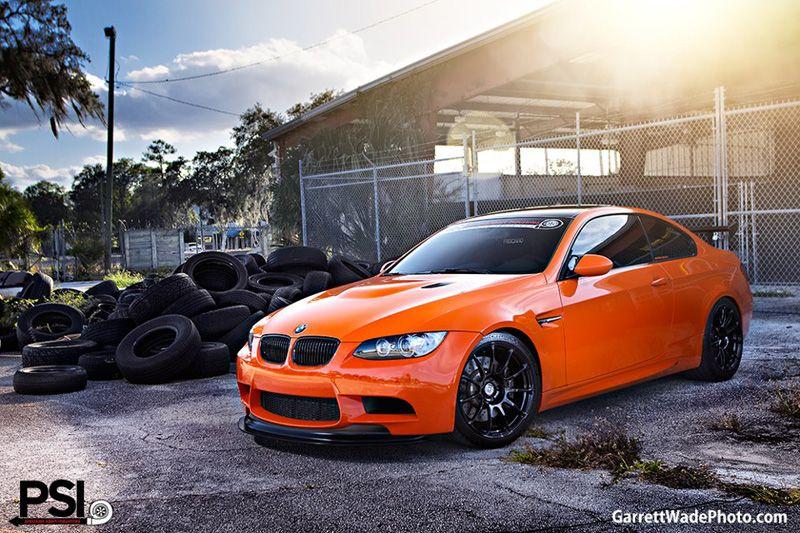 Bmw E92 M3 Orange Black With Images Bmw Bmw M3 Bmw Performance