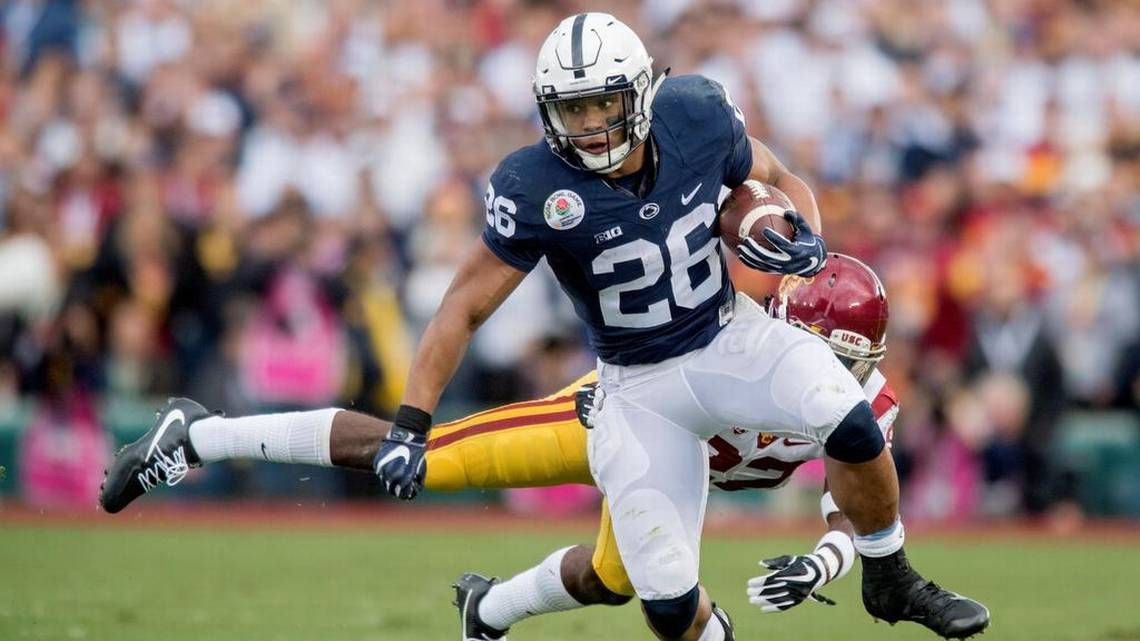 Penn State Football Top 15 Plays Of Saquon Barkley S College Career Centre Daily Times Football Penn State Football Penn State Athletics