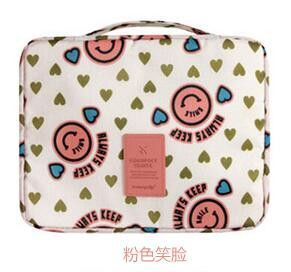 High quality portable travel Makeup Organizer Bag toiletry Bags lady waterproof receive necessary cosmetic bag
