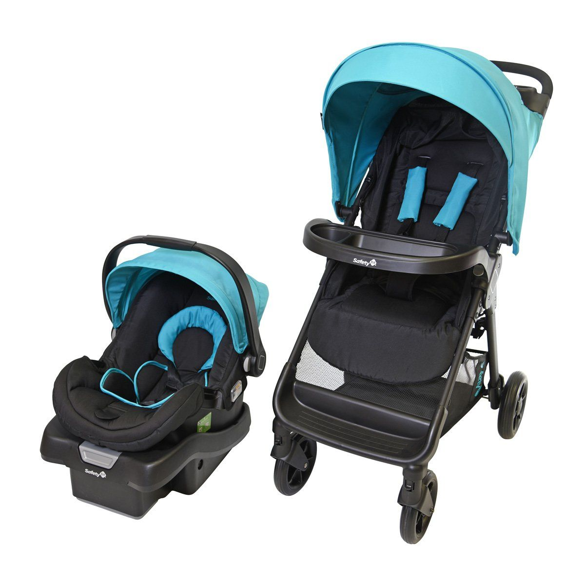 Safety 1st Smooth Ride LX Travel System Blue Travel