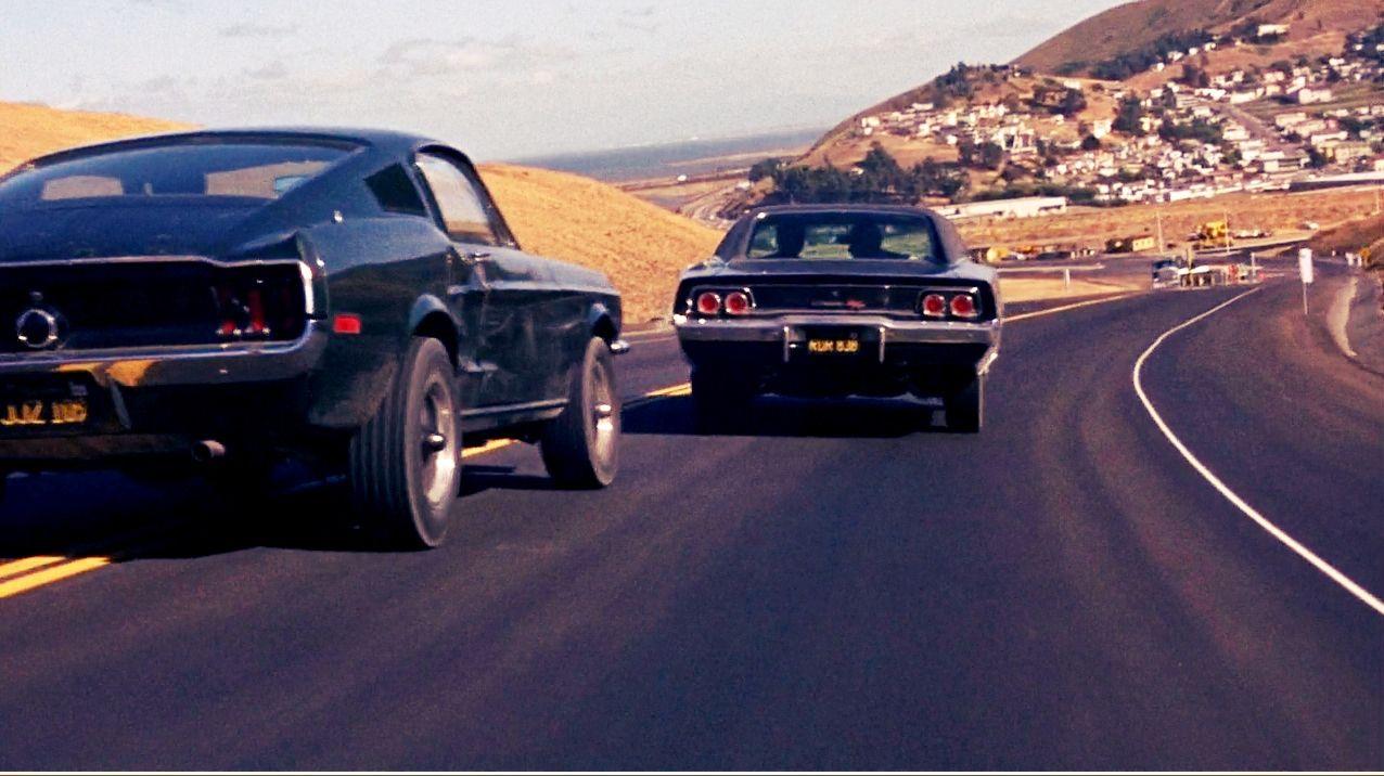 The ten best movie car chase scenes bullitt