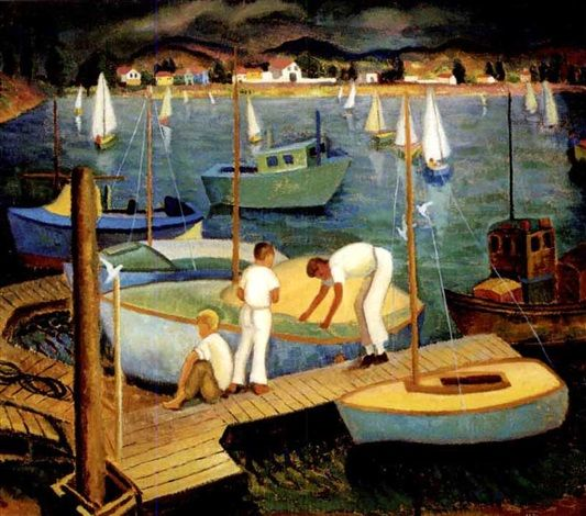 Sailing in Helen