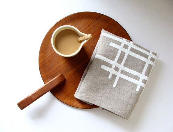 Milkhaus Design textiles.  Also like the presentation for serving coffee or tea.