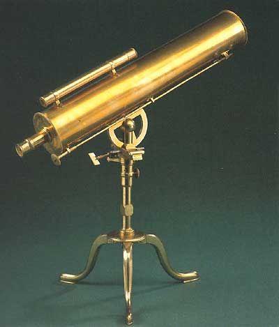 """De Bronce De Barco Telescopio W caja de madera de 16 /"""" Dollond London Telescopio"""