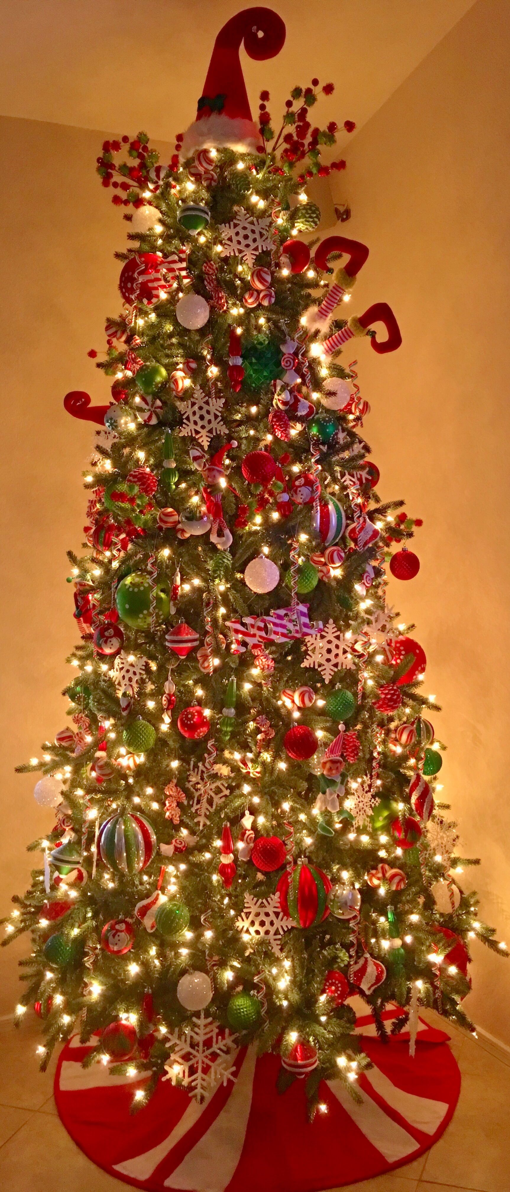 Christmas Tree 2016 Whimsical Tree Sweet Holiday Pier One Hobby Lobby Elf Tree Whimsical Christmas Trees Hobby Lobby Christmas Trees Candy Christmas Tree