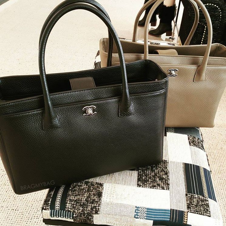 8874b33dd438 Shopping with Nguyet  Chanel Executive Cerf Tote