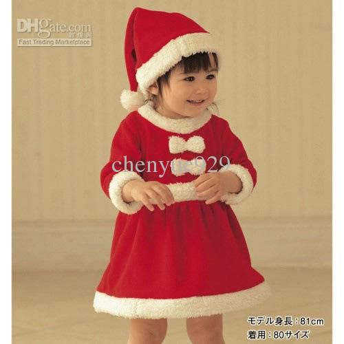 New Year Cute Baby Girls Red Clothes Christmas Clothes Winter Girl .  sc 1 st  Pinterest & New Year Cute Baby Girls Red Clothes Christmas Clothes Winter Girl ...