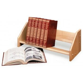Tabletop Book Rack Shelf Countertop Display Display With