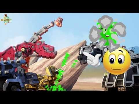 Oyuncak Dunyasi Dinozor Makineler Renklendirme Boyama Oyunu 2