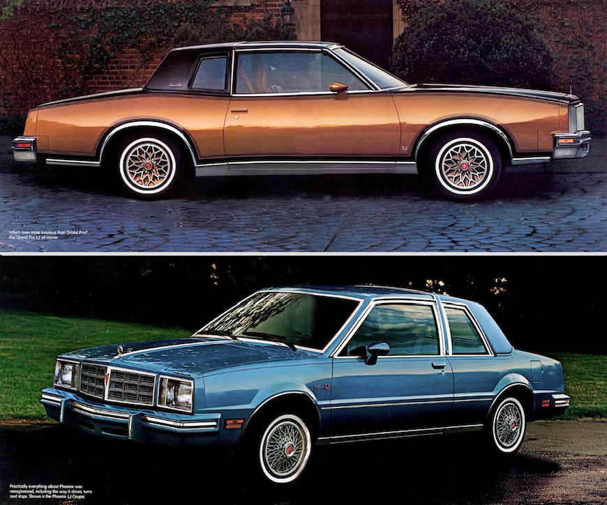 1980 Pontiac Grand Prix And Phoenix Coupe (With Images
