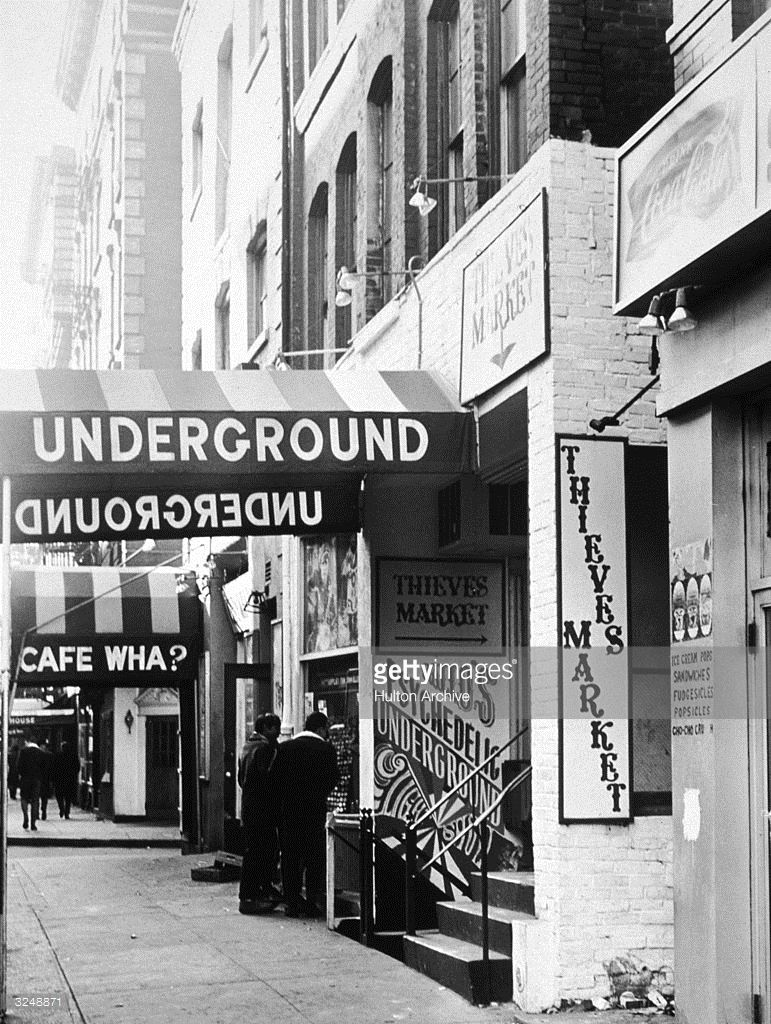 View Of The Exterior Awnings For The Underground Cafe And The Cafe Underground Exterior Retro Images