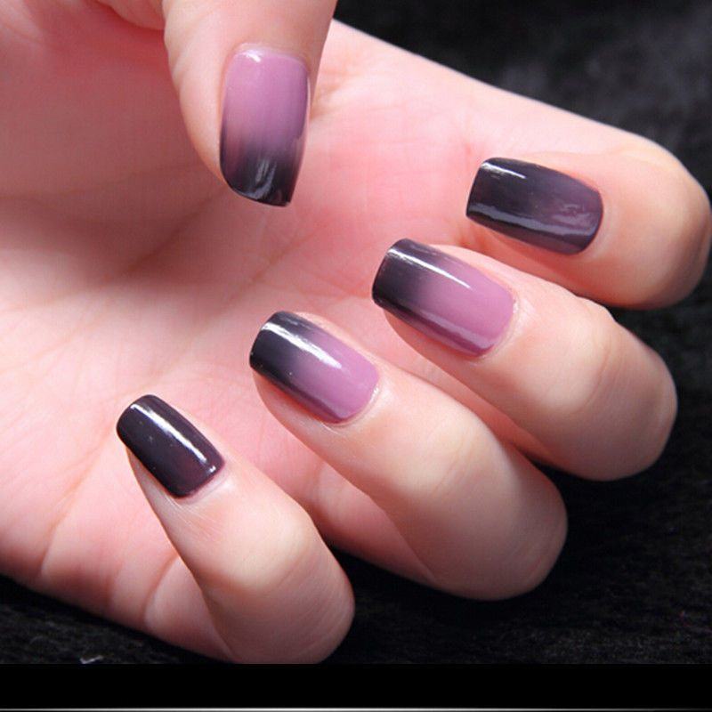 Soak Off Temperature Color Change Gel Nail Polish UV Led Nail Art ...