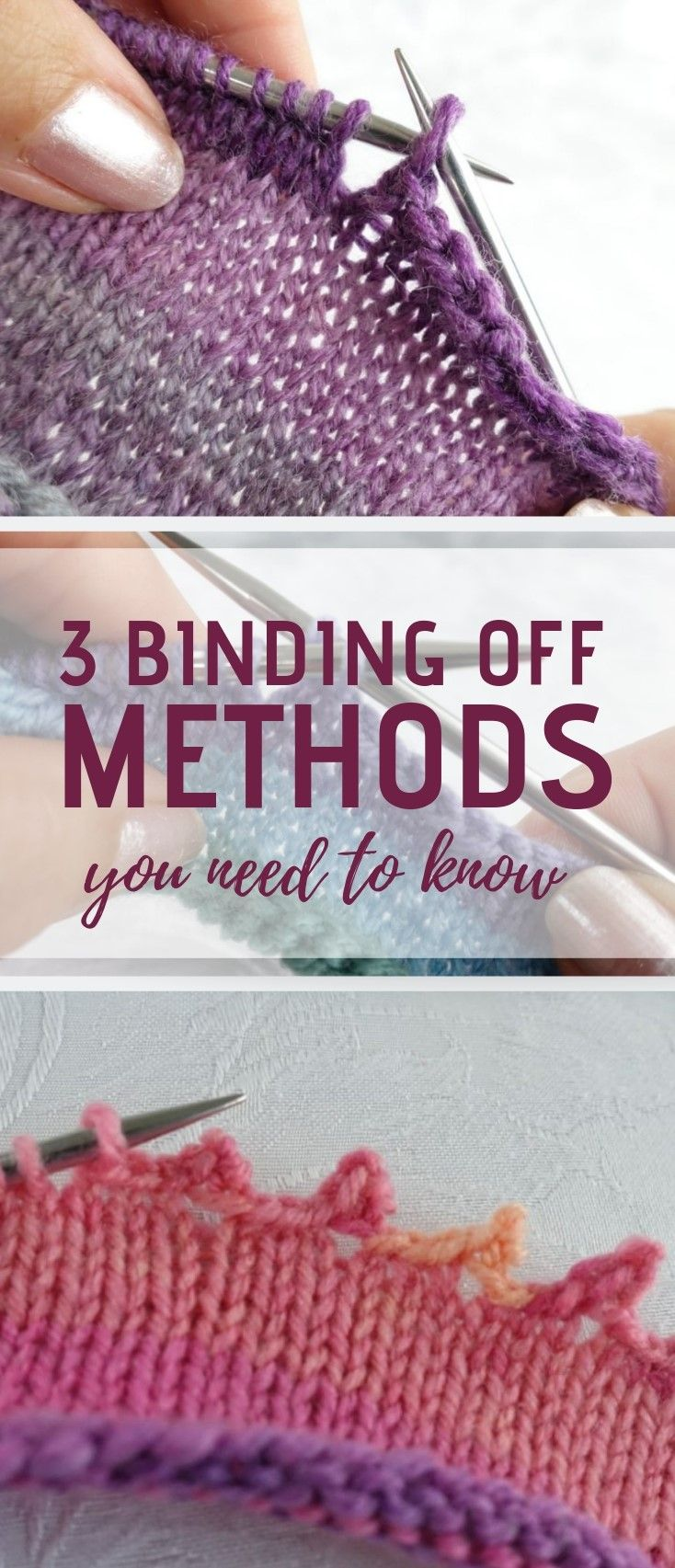 Photo of How to Bind Off In Knitting: Methods Every Knitter Needs To Know – Create & Craft Blog