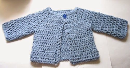 FREE Crochet Patterns Baby Cardigans | Pinterest | Häkeln