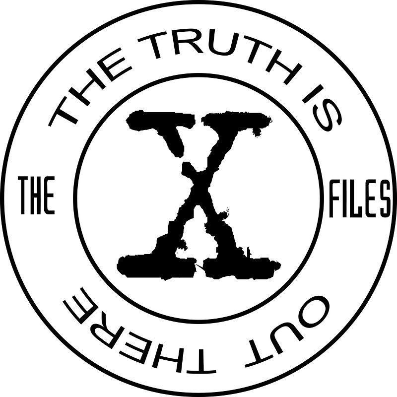X-Files The Truth Is Out There | Sticker | Filing, The ...
