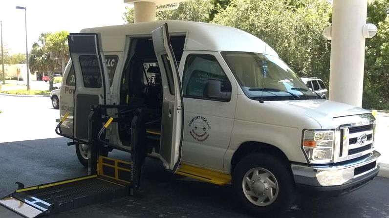 wheelchair transportation in Tampa FL and Houston TX in