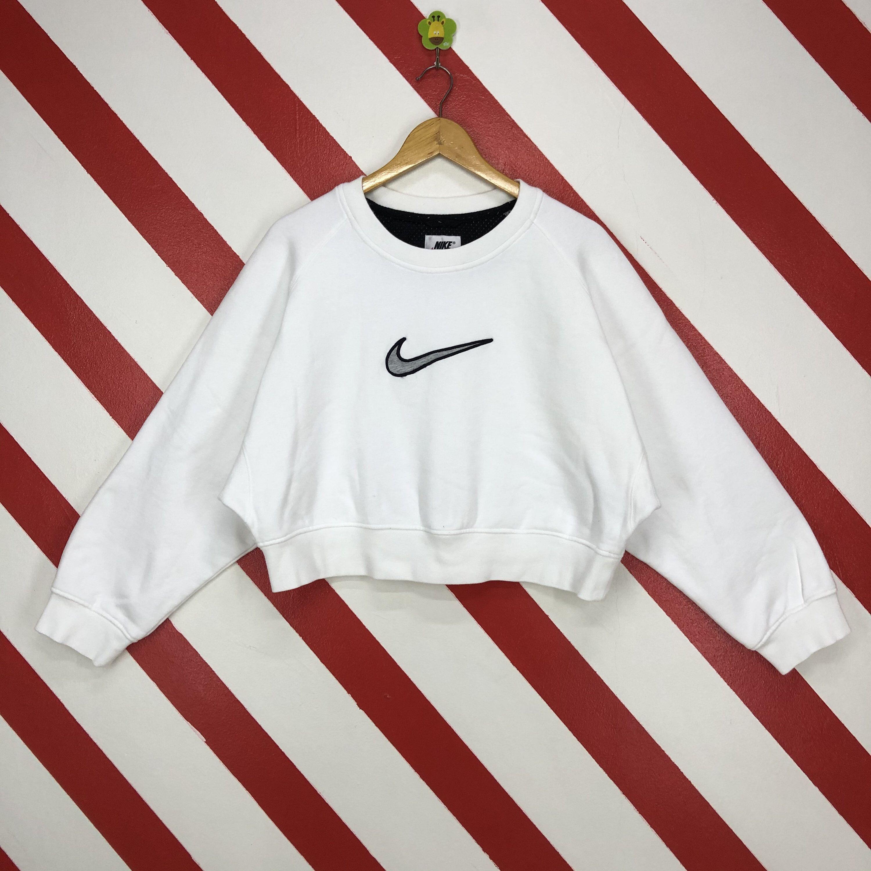 Vintage 90s Nike Sweatshirt Crewneck Nike Swoosh Crop Top Etsy Nike Sweatshirts Crop Tops Crop Top Sweater [ 3000 x 3000 Pixel ]