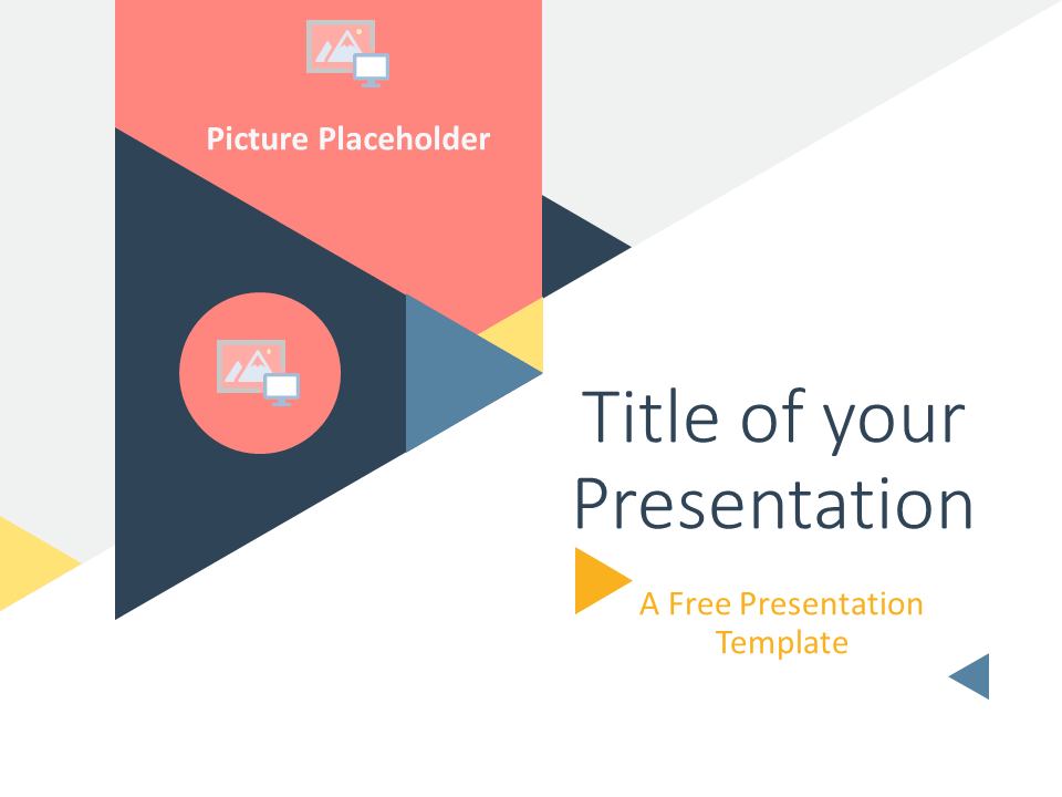 Triangle Modern Template For Powerpoint And Google Slides Powerpoint Templates Presentation Template Free Powerpoint