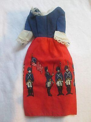 Vintage Patriotic Barbie Dress