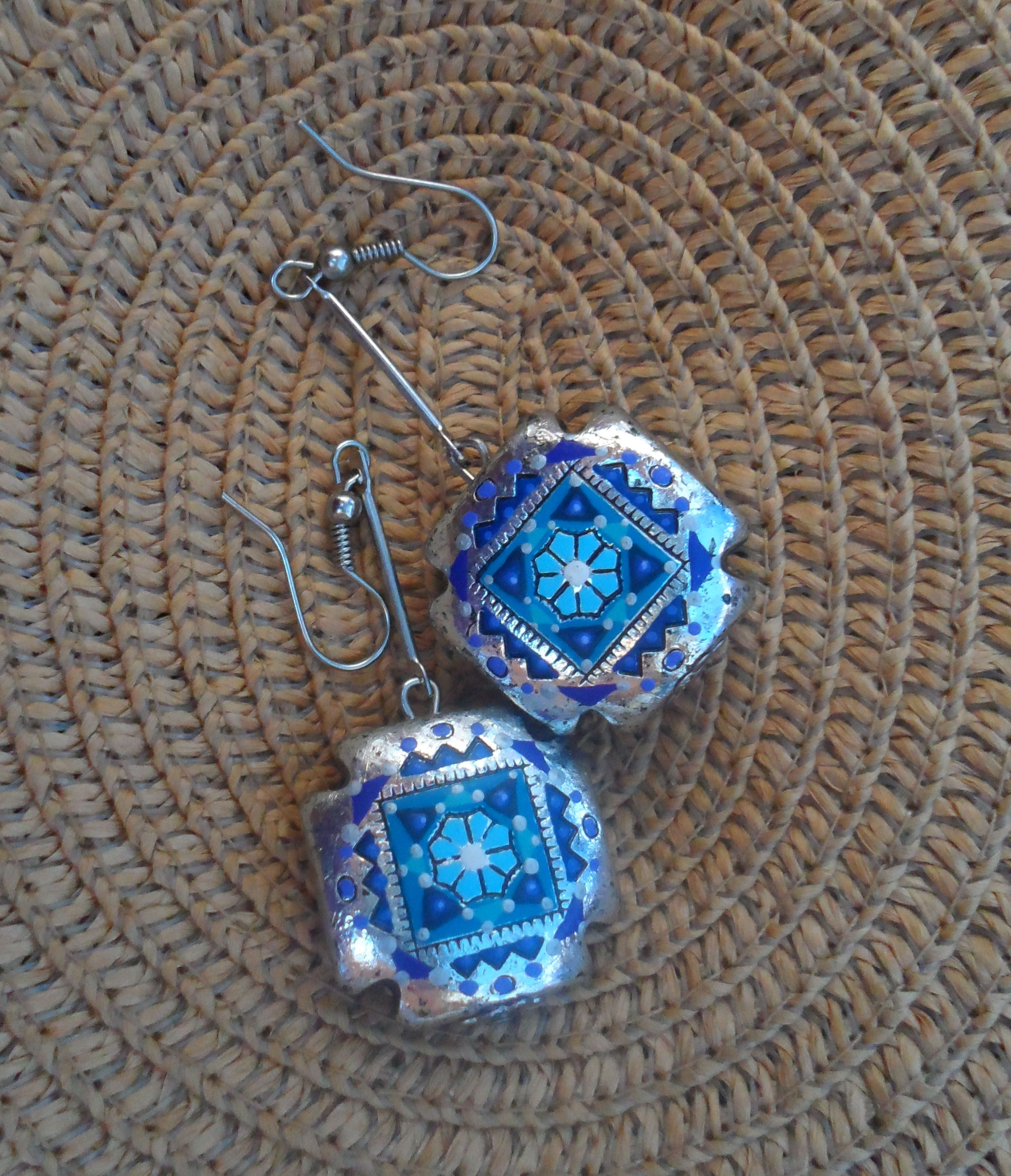 for with painted earrings take way art the these hand creates on jaine a rw inspiration to earring post provide wooden go wearable back form
